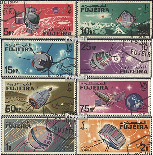 Fujeira 70A-77A (Complete.Issue.) 1966 Space (Stamps for Collectors) Space