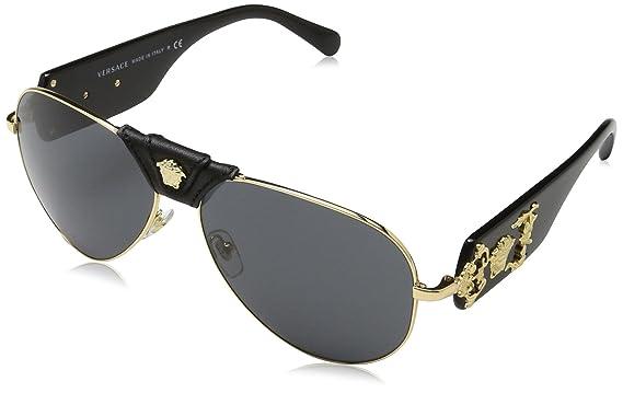 9018f8379bd VERSACE Men s 0VE2150Q 100287 62 Sunglasses