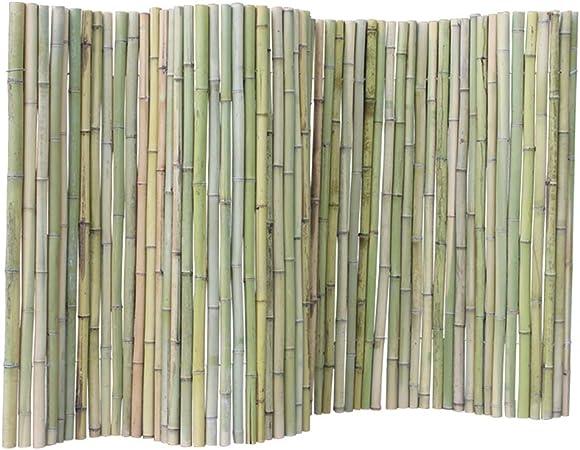 WXQIANG - Valla de jardín para plantas, diseño de flores, borde de la cama, decoración del hogar, 3 tamaños, bambú, Verde, 150 x 200c m: Amazon.es: Hogar