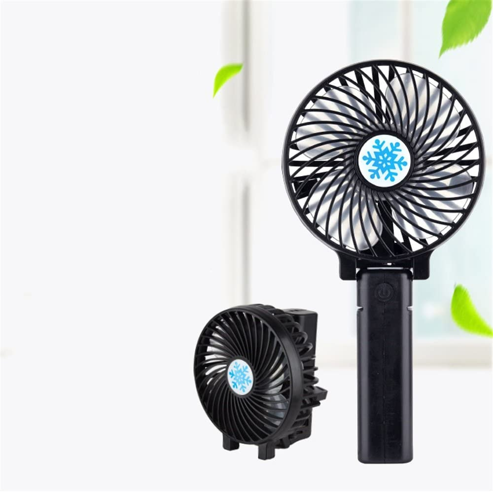 USB Table Desk Personal Fan Handheld Portable Rechargeable Mini Electric Fan for Home and Travel for Home Office Table
