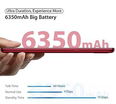 Amazon.com: Power 6 Big Battery 4G Mobile, 6350mAh,6.3
