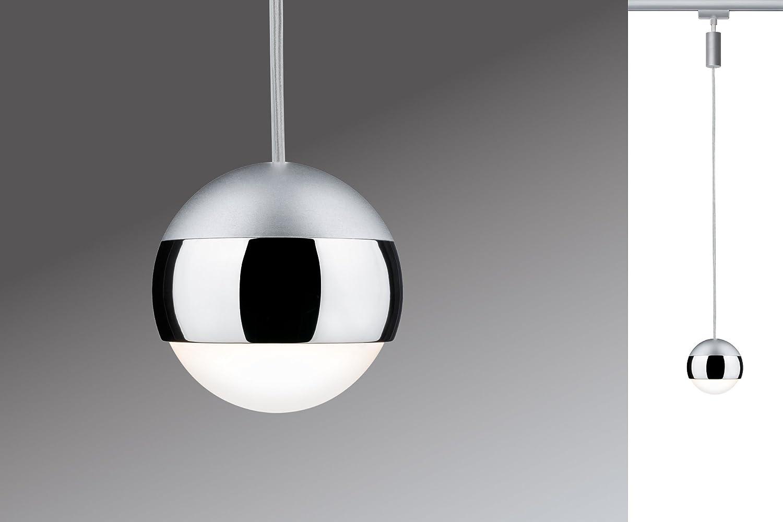 Paulmann 952.74 Stromschienensystem, Integriert, silber [Energieklasse A++]