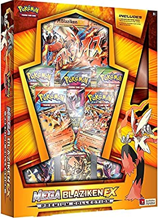 Pokemon TCG Mega Blaziken EX Evolution Premium Collection ...