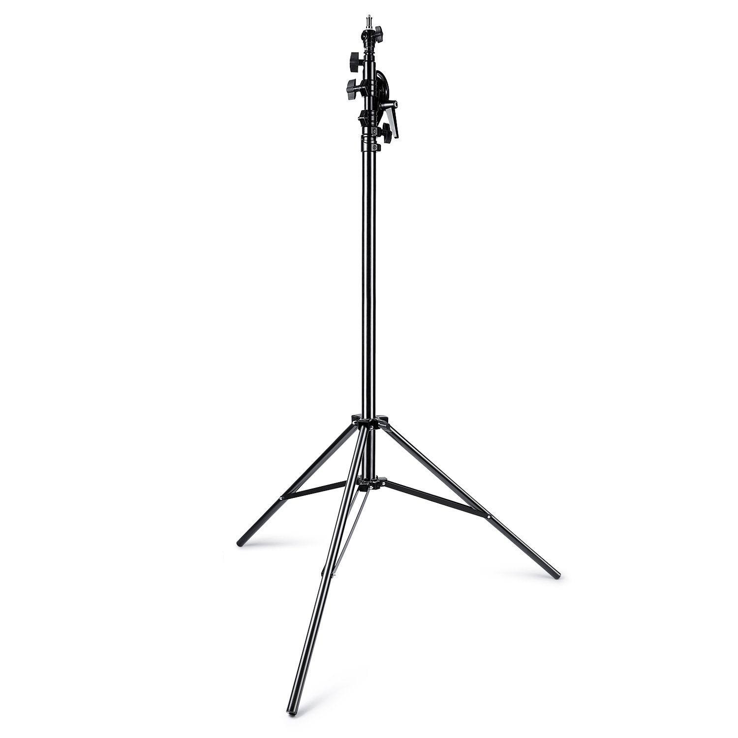 Neewer 13feet/390cm Two Way Rotatable Aluminum Adjustable Tripod Boom Light Stand with Sandbag for Studio Photography Video