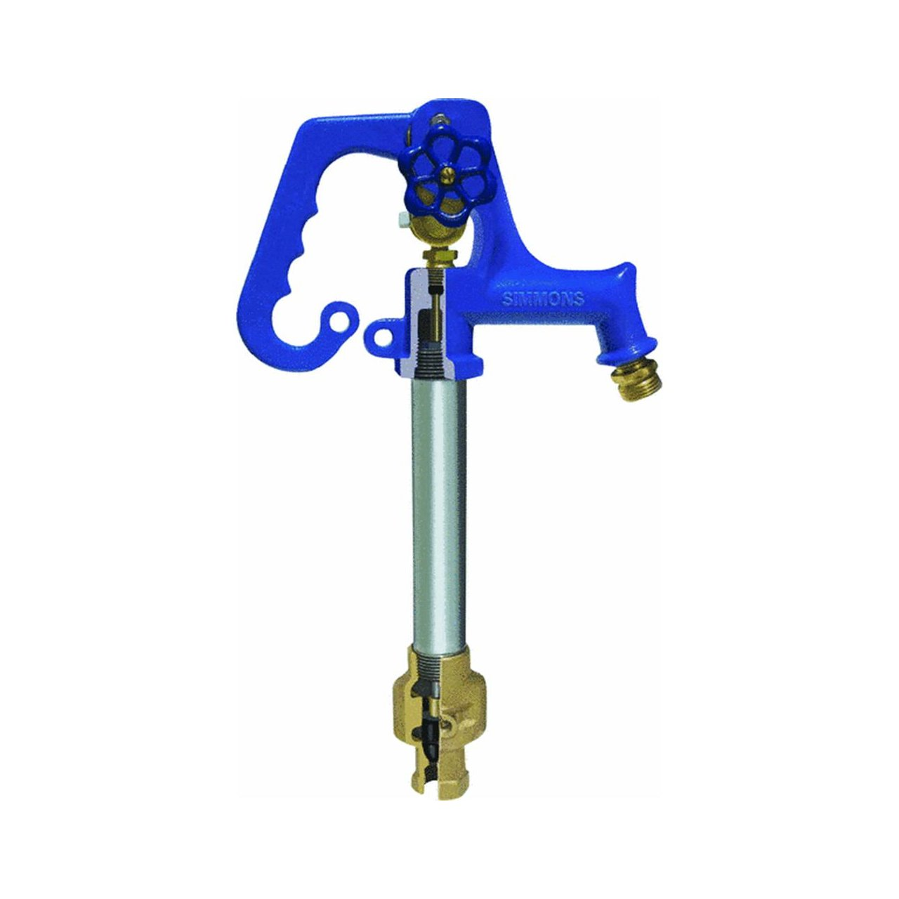 Frost Proof Bury Yard Hydrant - Plumbing Hoses - Amazon.com