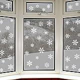 42 originali vetrofanie fiocchi di neve di Articlings – fantastici adesivi statici in PVC.