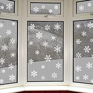42 Original Snowflake Window Clings by Articlings Fabulous