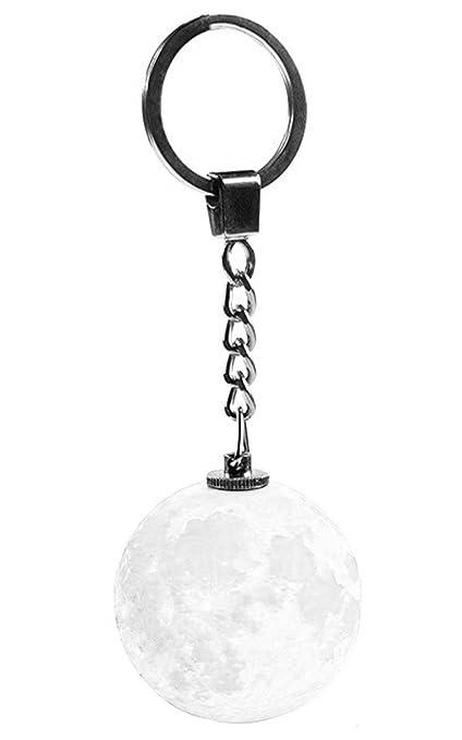 Meihejia Moon Light Key Chain Christmas Gifts Keychain for Women, Kids Birthday Gifts