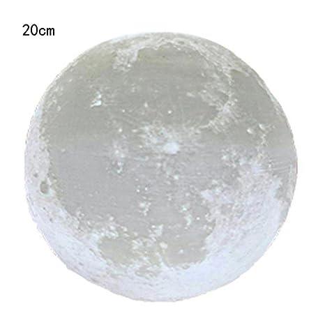 OHQ 3d usb toma de vista en mano Luces luna luz nocturna Moonlight ...
