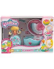 Giochi Preziosi - Kekilou K-Vanity Mini Playset, Bambola Lovey