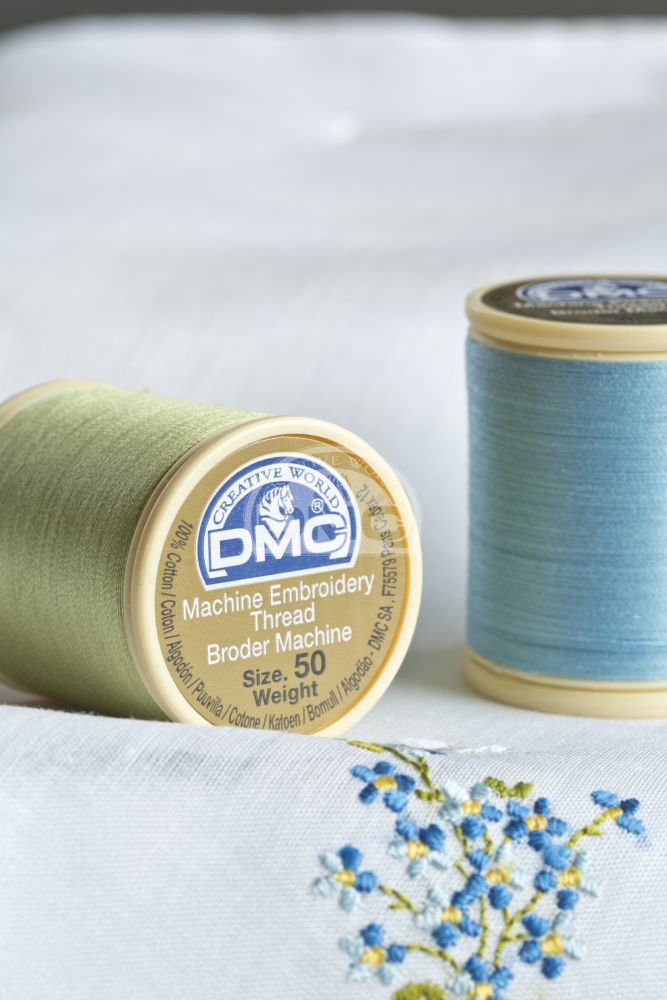 DMC 237A-50819 Cotton Embroidery Thread 50WT 547Yds Light Baby Pink