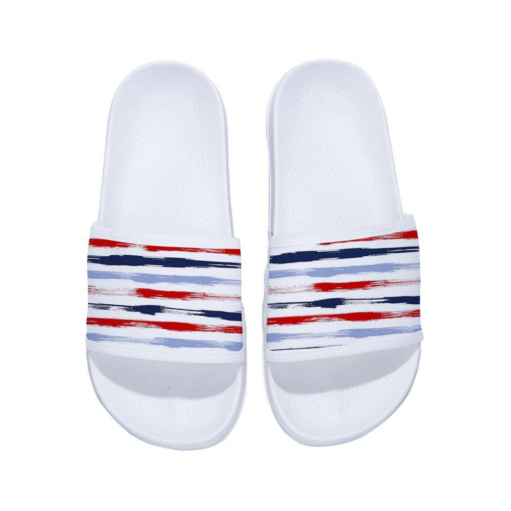 Ron Kite Stylish Beach Sandals for Boys Girls Anti-Slip Bath Slippers Little Kid//Big Kid