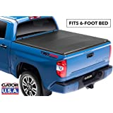 Gator ETX Soft Tri-Fold Truck Bed Tonneau Cover   59410   2016 - 2019 Toyota Tacoma 6.0' Bed   MADE IN THE USA