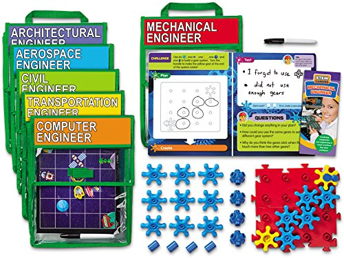 engineering toys for 12 year olds Lakeshore Family Engagement STEM Packs - Set of 6