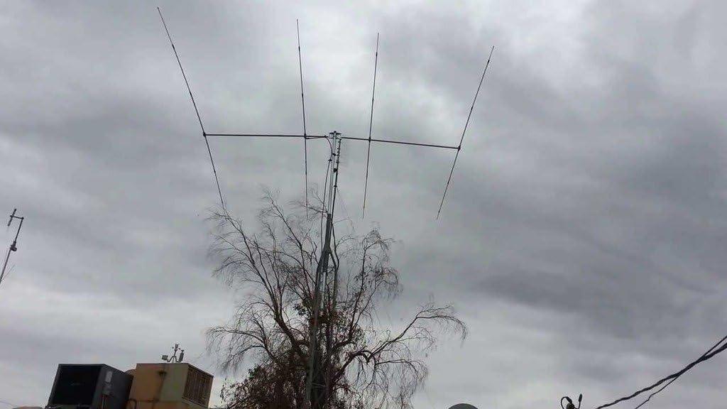 SIRIO SY4 Directiva 4 Elementos Yagi 26.5-30 MHz: Amazon ...