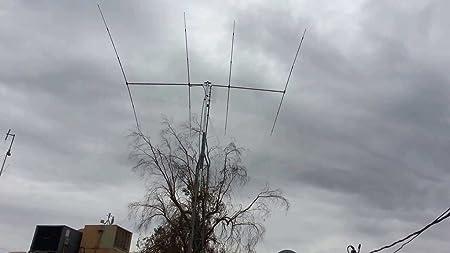SIRIO SY4 Directiva 4 Elementos Yagi 26.5-30 MHz: Amazon.es ...