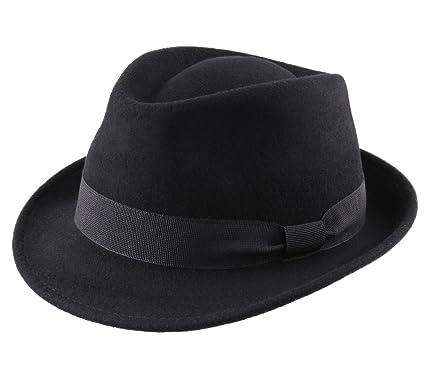 Modissima - Cappello Trilby Feltro Uomo Trilby  Amazon.it  Abbigliamento 0f9c4bd3b057