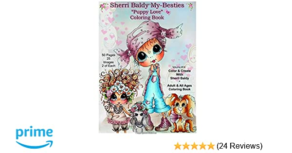 Amazon Sherri Baldy My Besties Tm Puppy Love Coloring Book