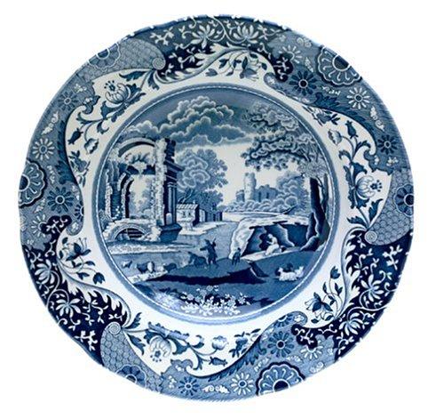 Spode Blue Italian Soup Plate - Soup Plate Transferware