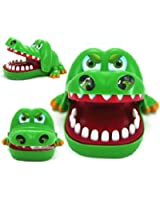 Catnew Funny Adult Children Kids Toy Crocodile Mouth Dentist Bite Finger Game Xmas Gift