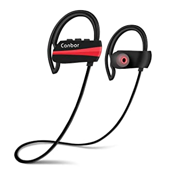 Canbor Auriculares Bluetooth, Auriculares inalámbricos Bluetooth 4.1 Auriculares, Sport IPX7 a Prueba de Sudor