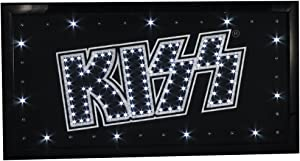 Officially Licensed Kiss (The Band) Logo 10 by 19 Inch Led Sign