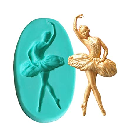 BALLERINA CHOCOLATE CANDY MOLD Soap Dance Ballet Crafts