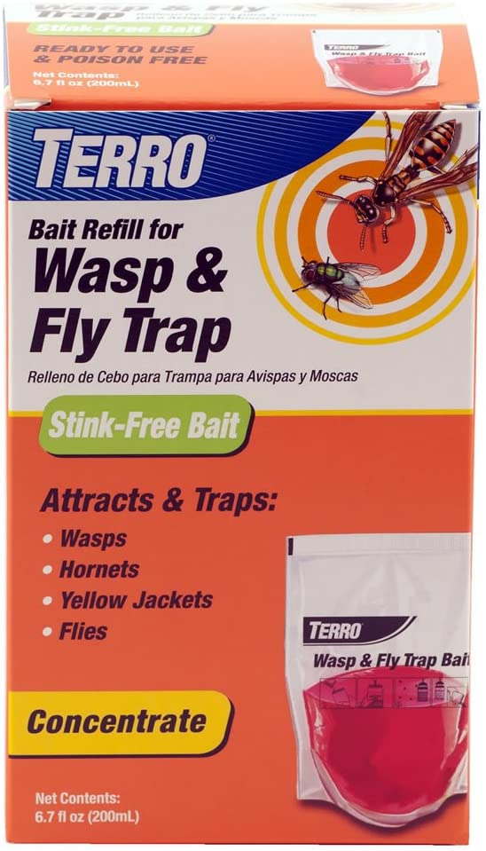 TERRO T513 Wasp & Fly Trap – Bait Refill