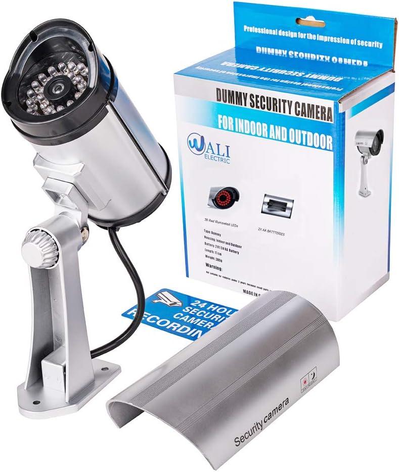 Amazon.com: WALI - Cámara de vigilancia falsa para interior ...