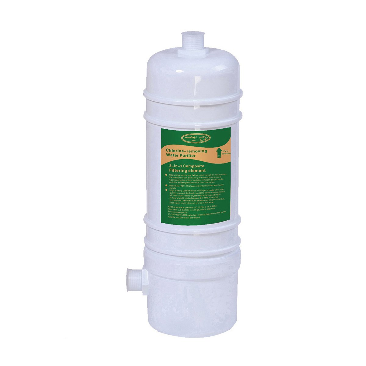 Hansing Under Sink Water Filter Replacement Cartridge For HSG-01