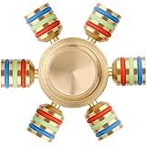Spinner Fidget, Tronisky Tri Fidget Hand Spinner giocattolo Ultra-Veloce Rotazione da 1~3 minuto Finger Spinner Fidget Hand Spinner Giocattolo