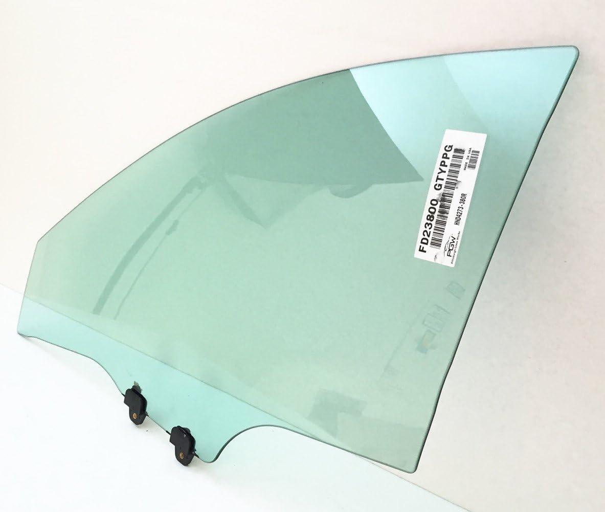 NAGD Compatible with 2009-2014 Acura TL 4 Door Sedan Driver Side Left Front Door Window Glass