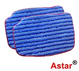 Appliances : McCulloch A1375-101 Replacement Scrubbing Microfiber Mop Pad for MC1375, MC1385, 2-Pack