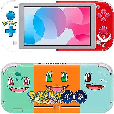 Switch Lite Pegatina, Llustración De Etiqueta De Piel, Adecuada para Película Protectora De Etiqueta De Piel De Switch Lite (Pokémon): Amazon.es: Electrónica