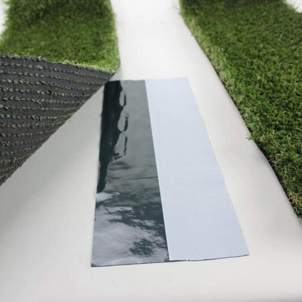 Wifehelper Bande de Couture pour Herbe Artificielle 15 x 50m Auto-Adh/ésive Joignant Une Bande Verte de Gazon Synth/étique pour Gazon Synth/étique