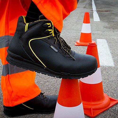 Cofra Sicherheitsstiefel de perforación S3 Running zapatos de seguridad con negro 191 de 45, 78690-001