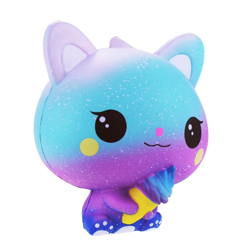 Joykith squishies Lento Rising - Jumbo Kawaii Galaxy Gato ...
