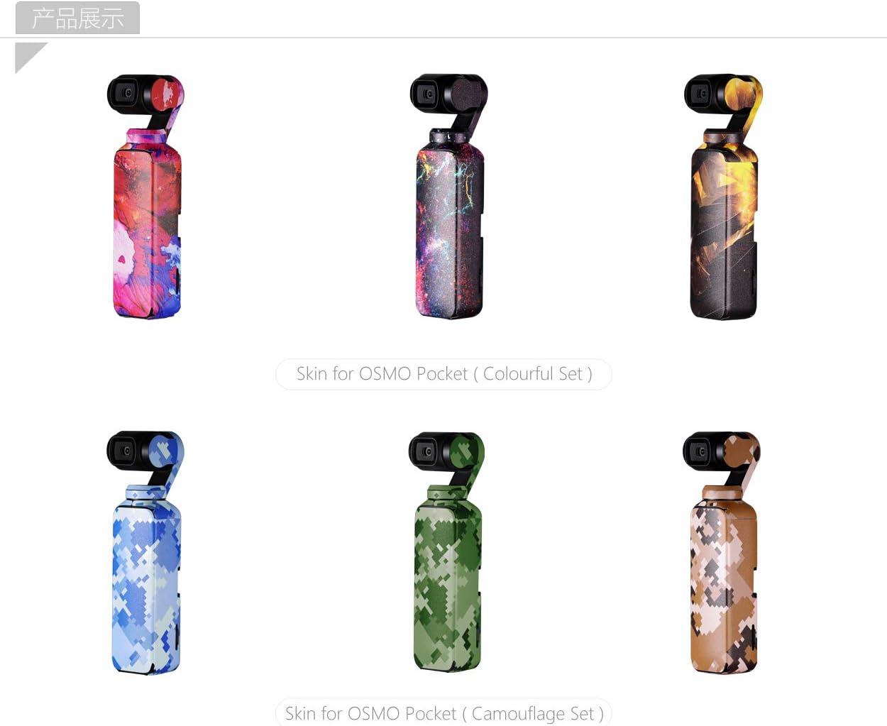 Mini Carry Case PGYTECH Huaye Phone Holder Mobile Bracket Filter Skin Gimbal Camera Hood Handheld Bag Case Compatible with DJI OSMO Pocket Accessories
