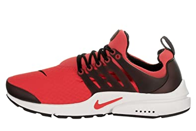 d45e2cf73b8a Nike Mens Air Presto Essential Track Red Track Red Black Running Shoe 10 Men