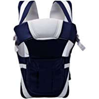 Gtc Adjustable Hands-Free 4-In-1 Baby Carrier Bag With Comfortable Head Support (Navy-Blue)