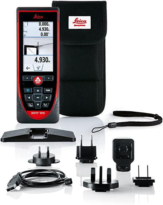 Leica Disto S910 Laser Measure For Professionals
