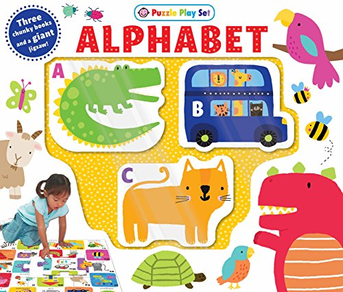 (Puzzle Play Set: ALPHABET: Three Chunky Books and a Giant Jigsaw Puzzle! (First Learning Play Sets))