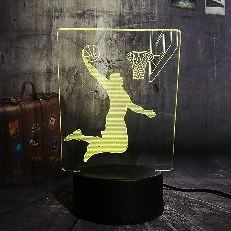 Jugador de baloncesto moderno Cool Slam Dunk Sport Led 7 ...