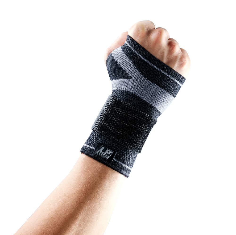 LP SUPPORT LP Support X-Tremus 130XT Men's Wrist Brace - Support Grasp Power, Prevent and Relieve Carpal Tunnel - Breathable Fabric (Extra Large) by LP SUPPORT