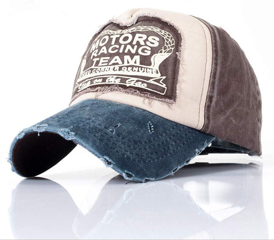 LONGTEN Classic Baseball Cap Vintage Washed Denim Cotton Dad Hat Adjustable Size Unisex