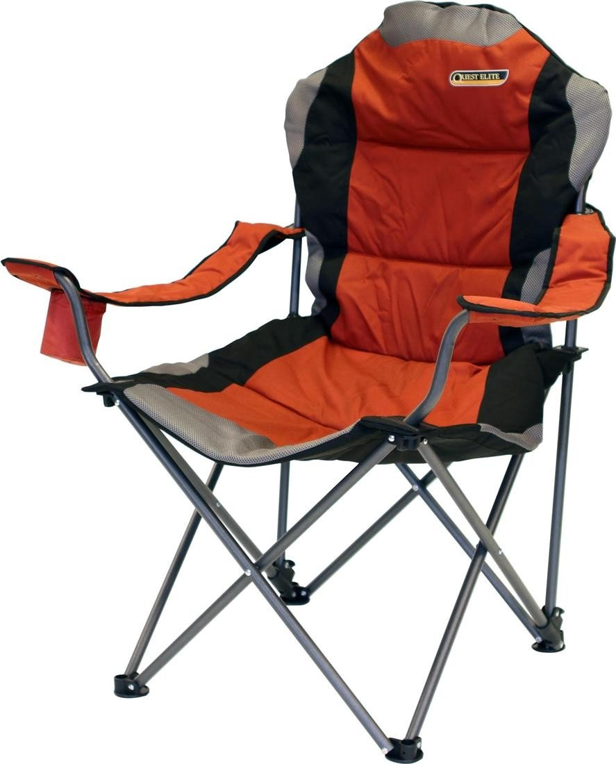 Quest Comfort Folding Chair Sage Padded Head Rest U0026 Soft Arms:  Amazon.co.uk: Garden U0026 Outdoors