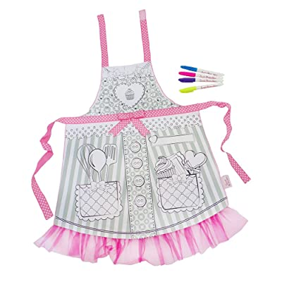Great Pretenders Color-An-Apron Dress-Up Play: Toys & Games