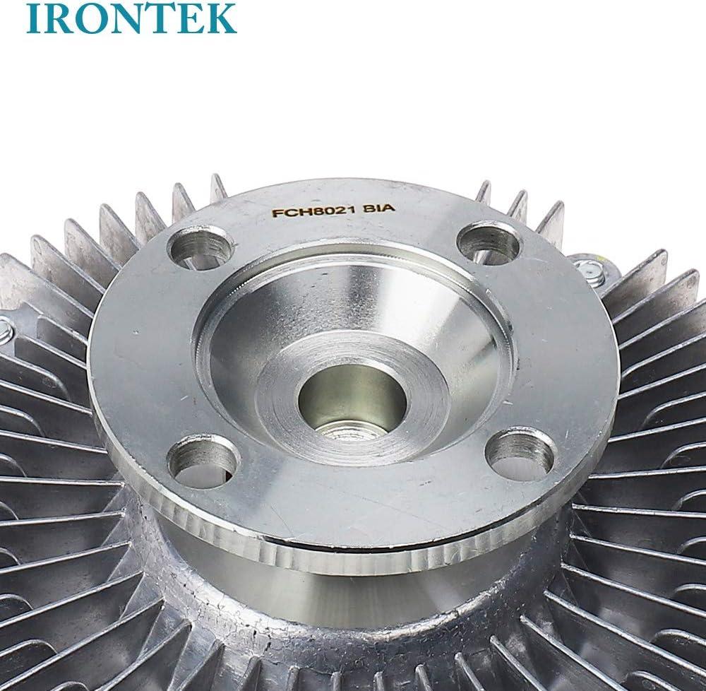 IRONTEK Engine Cooling Fan Clutch fits Acura SLX//Honda Passport//Isuzu Rodeo//Toyota 4 Runner//Toyota Tacoma//Tundra Radiator Fan Clutch