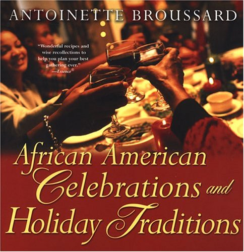 Books : African American Celebrations And Holiday Traditions