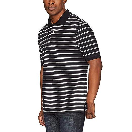 3562835dfb65 MmNote Save 15% Mens Casual Fashion Strip Texture Print Premium Classic Fit  Men's Athletic Golf